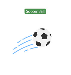 soccer ball icon or sign vector image