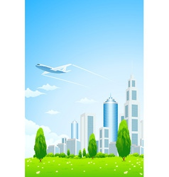 Business City vector image vector image