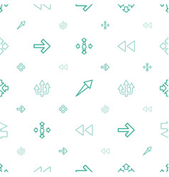 forward icons pattern seamless white background vector image