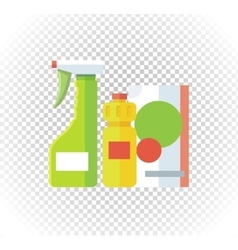Household Chemical Appliances vector image