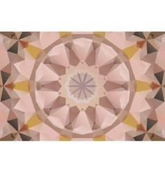 Seamless mandala design vector image