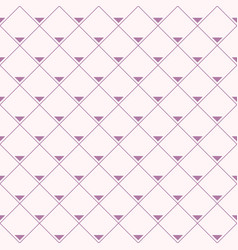 seamless pattern repeating rhombuses with vector image
