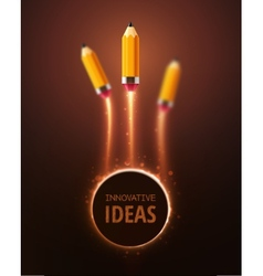 Innovative Ideas vector image vector image