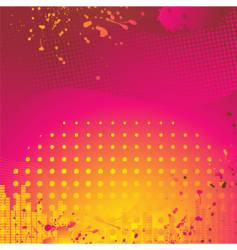 abstract pink and orange background vector image