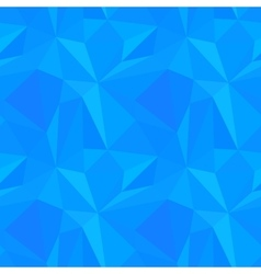Abstract blue triangulated pattern vector image