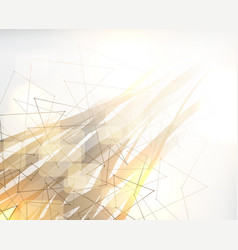 Abstract poly background polygonal design vector