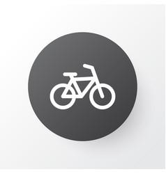 bike icon symbol premium quality isolated bicycle vector image