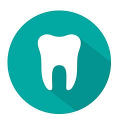 Icon tooth dentist symbol logo teeth vector