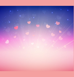 Soft pink romance background for greeting card vector