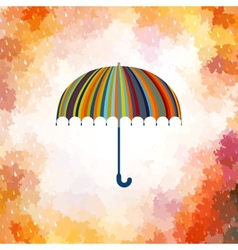 Umbrella and rain drops EPS 10 vector