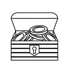 game Treasure chest icon vector image vector image