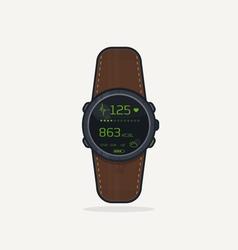 Sport watch icon vector image vector image