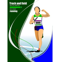 Al 1112 Track and field 02 vector