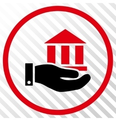 Bank Service Icon vector image