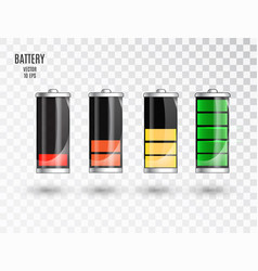 battery charging battery charging status vector image