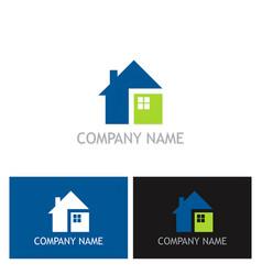 Home square logo vector