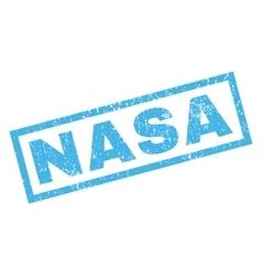 Nasa rubber stamp vector
