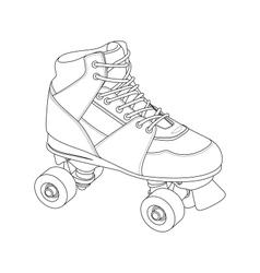 Roller Skate vector