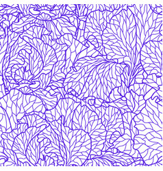 seamless pattern with violet irises vector image
