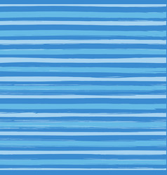 seamless pattern with hand drawn blue stripes vector image vector image