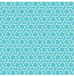 caning pattern background vector image