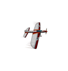 Airplane military vector