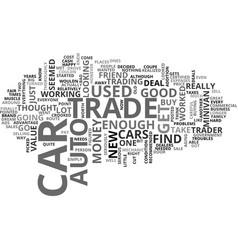 Auto trade text word cloud concept vector