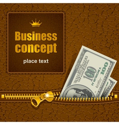 Business concept vector image vector image