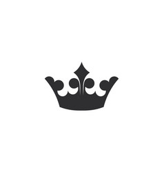 crown logo - king queen royal royalty prince lux vector image