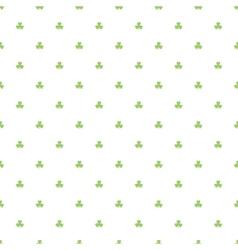 Day Patrick festive background pattern green vector image