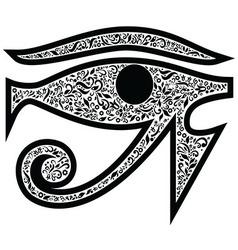 Evil eye vector image