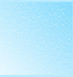 falling snow on a blue background stylish vector image