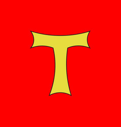 Flag of toul in meurthe-et-moselle of grand est vector