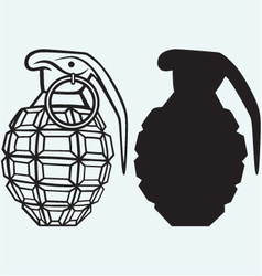 Image of an manual grenade vector image