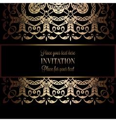 Invitation decorative 23 vector