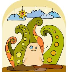 Little Fantastic Animal vector image