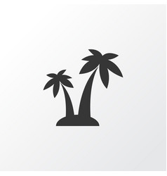 Palms icon symbol premium quality isolated trees vector