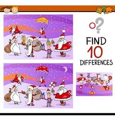 Preschool differences task vector