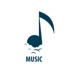 sign music musical notes vector image