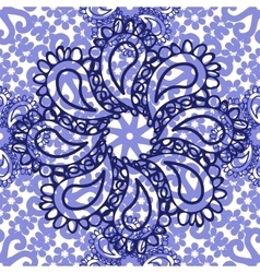 Abstract elegance flowe seamless pattern vector