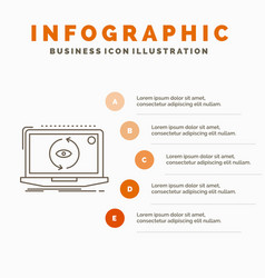 app application new software update infographics vector image