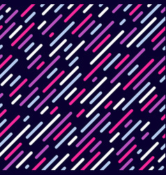 Diagonal lines seamless pattern background vector
