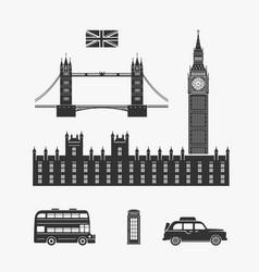 England london elements vector