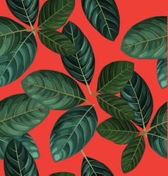 Foliage seamless pattern3 vector