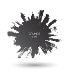 grunge brushed background vector image