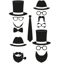 icon art poster man father dad day avatar element vector image