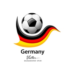 Football team germany vector image vector image