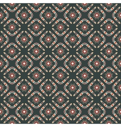 seamless pattern with boomerangs and stars vector image vector image