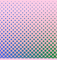 halftone gradient dot pattern background - vector image vector image