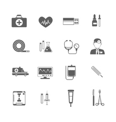 Simple medical icon vector image